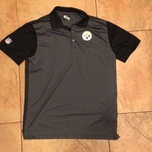 Nike Pittsburgh Steelers polo shirt